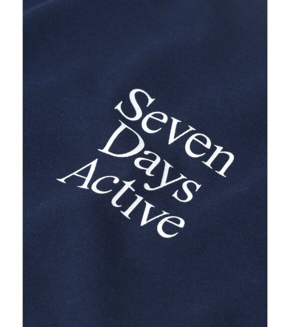 7 Days Active - Womens Tee Navy