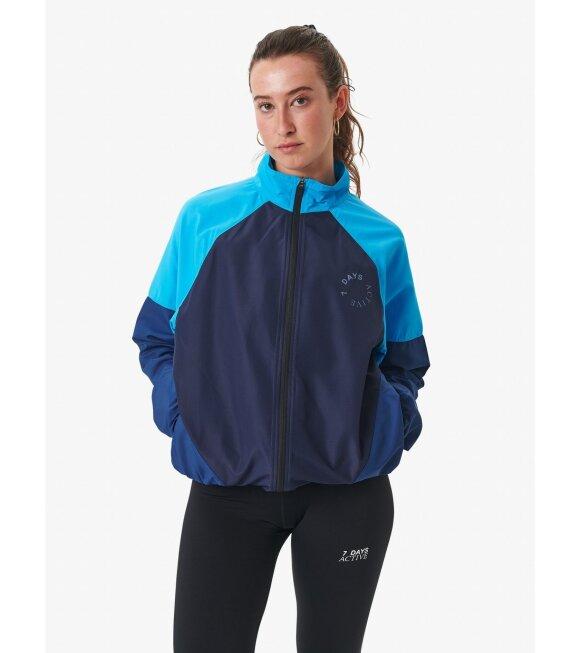 7 Days Active - Running Jacket Estate Blue