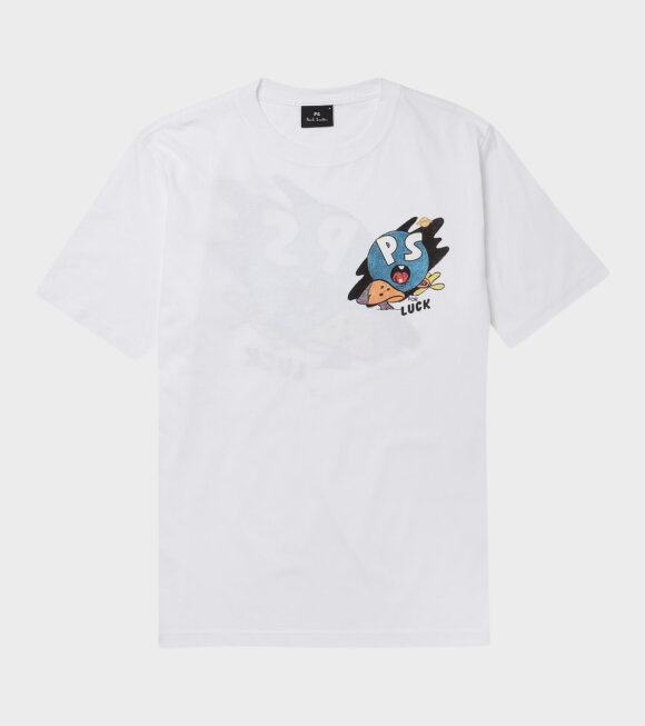 Paul Smith - PS For Luck T-shirt White