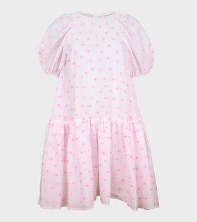 Cecilie Bahnsen - Alexa Dress White Pink