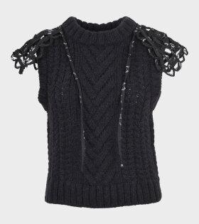 Cecilie Bahnsen - Brynlee Vest Black