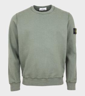 Stone Island - Patch Sweatshirt Green