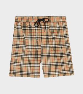 Burberry - M Guildes Shorts Archive Beige