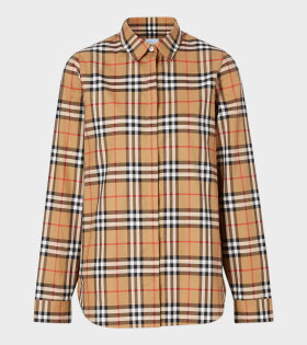 Burberry - W Vintage Check Shirt Antique Yellow