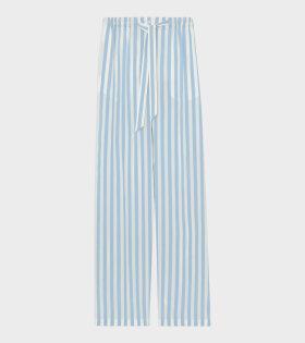 Burberry - W Cecilia Trousers Vivid Cobalt Stripe