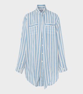 Burberry - W Ruby Shirt Vivid Cobalt Stripe