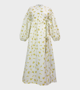 Sabina Sommer - Alyssa Banana Dress White