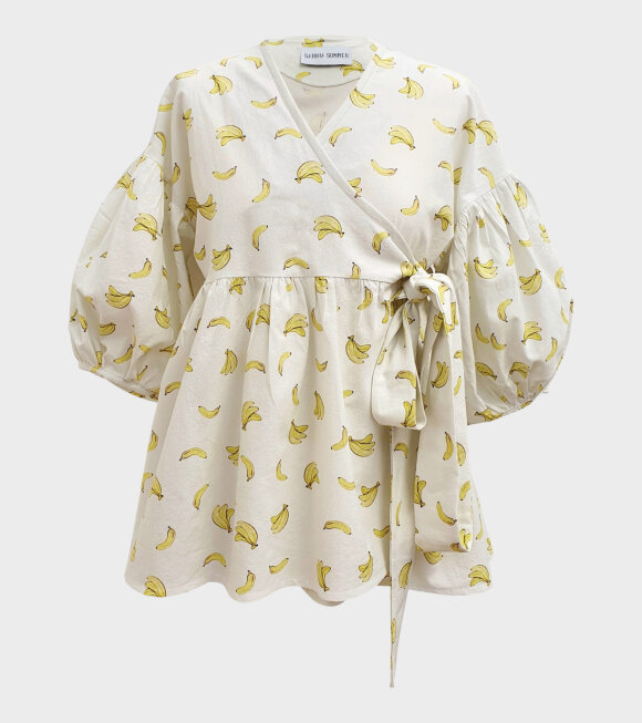Sabina Sommer - Bella Banana Shirt White