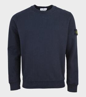 Stone Island - Patch Sweatshirt Navy