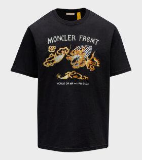 Moncler X Fragment - Genius Maglia Tee Black