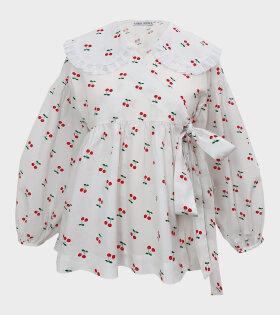 Sabina Sommer - Dina Cherry Shirt White