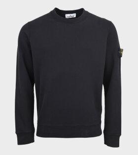 Stone Island - Patch Sweatshirt Black