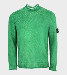 Stone Island - High Neck Knit Green