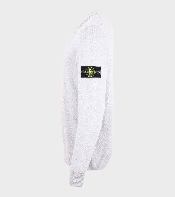 Stone Island - Embroidered Knit Grey