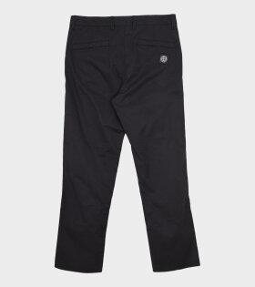 Stone Island - Classic Logo Pants Black