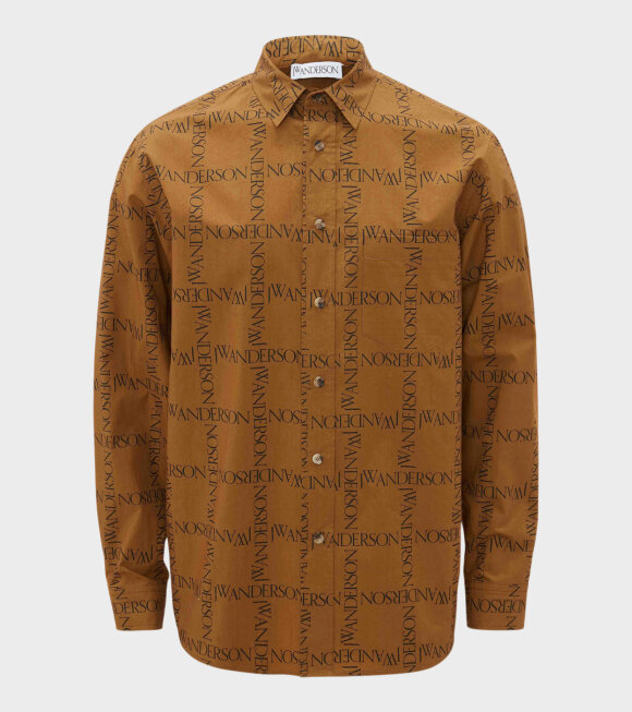 JW Anderson - Relaxed Shirt Tobacco