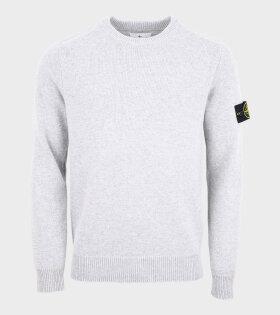 Stone Island - Classic Knit Light Grey