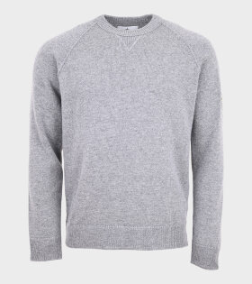 Stone Island - Logo Sleeve Knit Grey