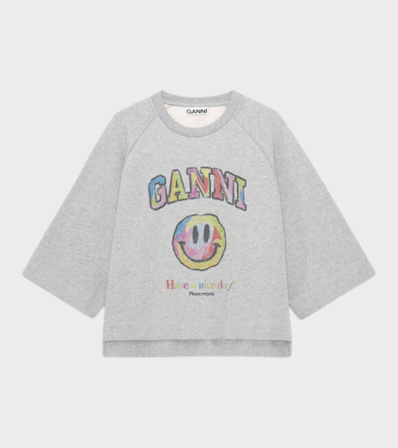 Ganni - Isoli Sweatshirt Grey