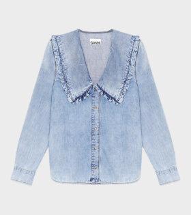 Light Denim Shirt Blue