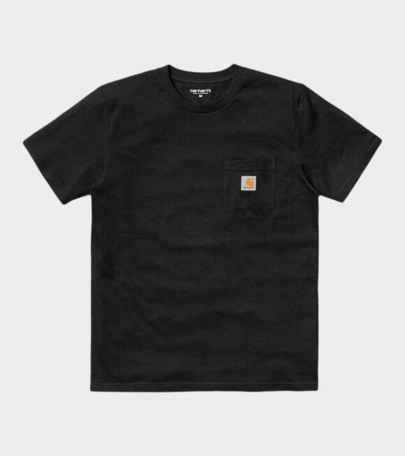 Carhartt WIP - S/S Pocket T-shirt Black