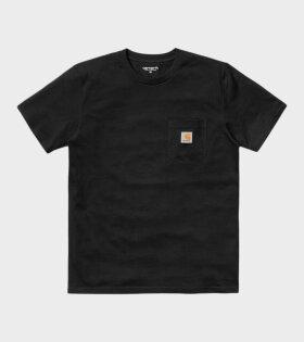S/S Pocket Tee Black