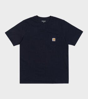 S/S Pocket Tee Navy Blue