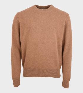 Moon Sweater Tan Brown