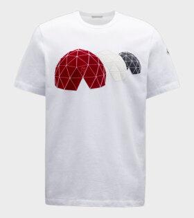 Moncler - Maglia Print T-shirt White