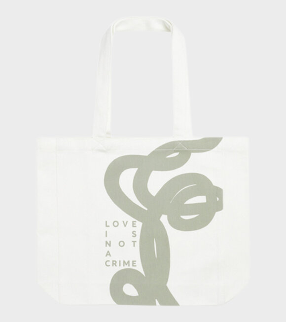 Mads Nørgaard  - Athene Recycled Bag White