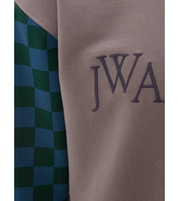 JW Anderson - Colorblock Logo Sweatshirt Grey