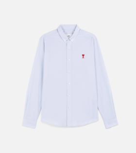 AMI - Ami de Coeur Shirt Light Blue