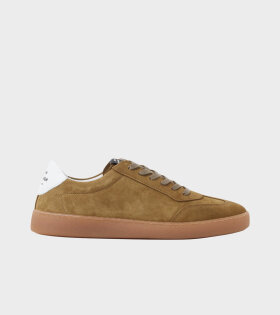 Suede Troy Sneakers Capers Green
