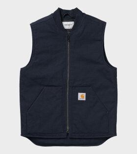 Classic Vest Navy Blue