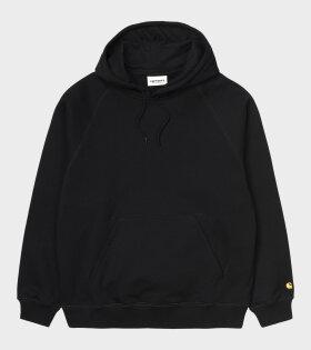 Hooded Chase Sweatshirt Black