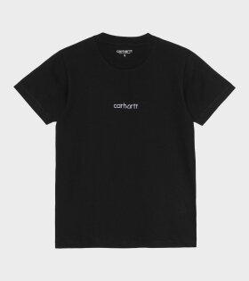 Carhartt WIP - S/S Hartt Script T-shirt Black