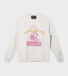 Marc Jacobs - Peanuts x Marc Jacobs Sweatshirt White