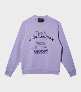 Marc Jacobs - Peanuts x Marc Jacobs Sweatshirt Purple