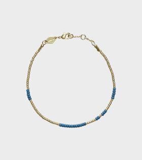 Anni Lu - Asym Bracelet Blue Frog