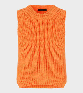 Annemarie Chunky Knit Orange - dr. Adams