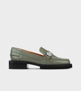 Loafers Kalamata Green - dr. Adams