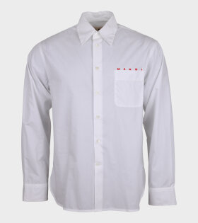 Pocket Shirt Logo White/Red