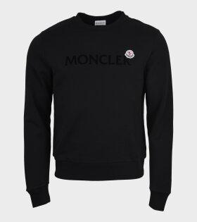 Maglia Girocollo Sweatshirt Black