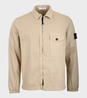 Cotton Overshirt Beige