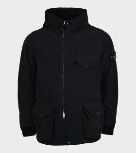 David Light-TC Jacket With Micropile Black