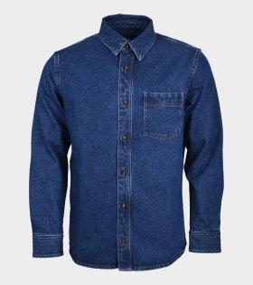 A.P.C - Surchemise Cyril Shirt Indigo