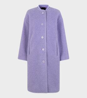 Beth Fleece Outerwear Lilac - dr. Adams