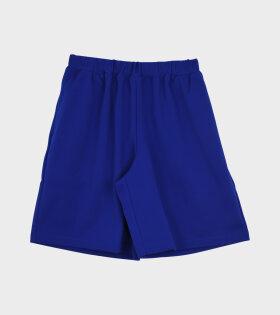 Comme des Garcons Girl - Loose Fit Shorts Blue