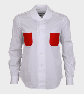 Comme des Garcons Girl - Pockets Shirt White