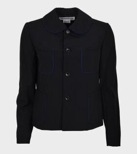 Comme des Garcons Girl - Four Pockets Blazer Black